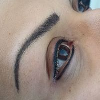 After - Eye Brow and Eye Liner